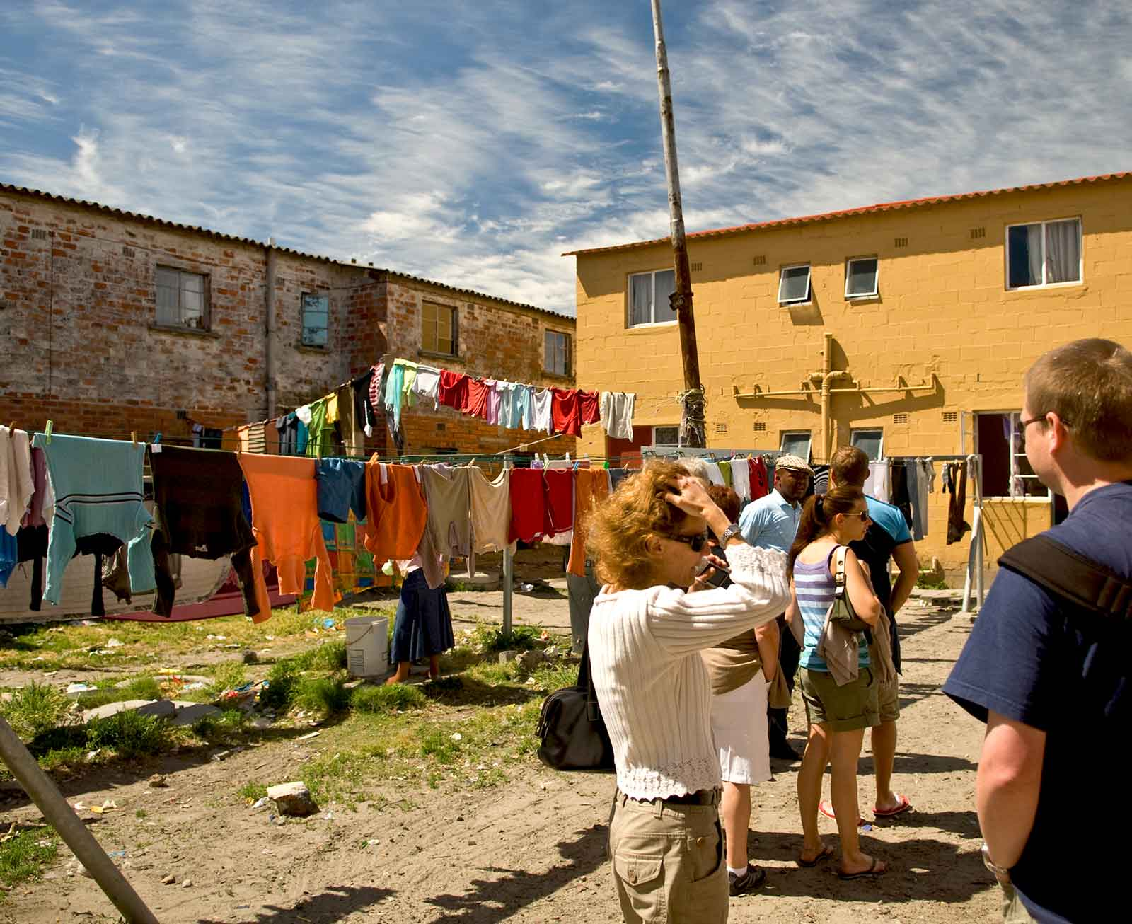 Township tour walking-tour through the hostels of Langa