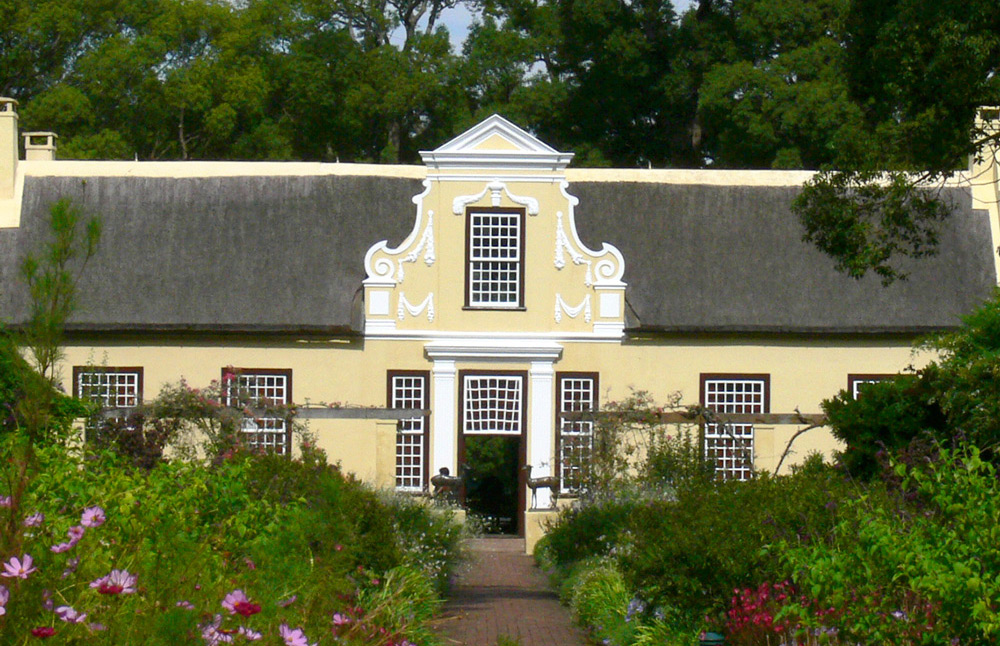 Hajo's Tours - Winelands Cape dutch style house picture