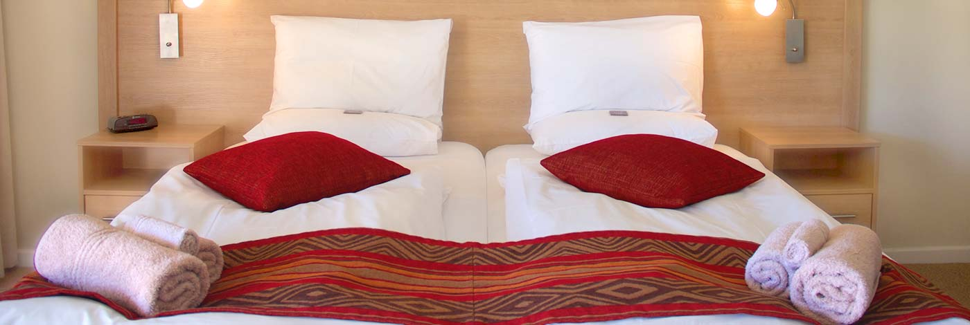 Hajos Lodge and Tours Superior Room King-size bed